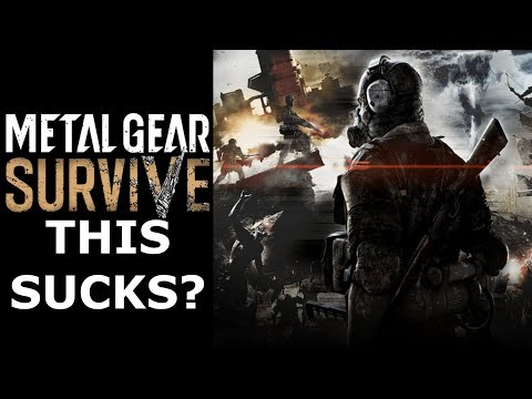 Metal Gear Survive BETA Review! Just SO BAD? (Ps4/Xbox One)