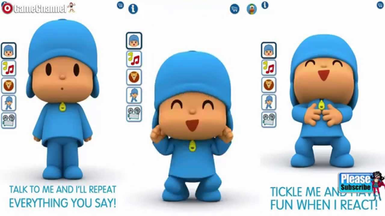 Talking Pocoyo Free Android Ios Free Game Gameplay Video Youtube
