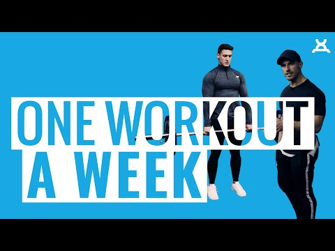 ONE WORKOUT A WEEK | The Only Workout You Need
