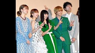 女優・二階堂ふみ(23)が18日、都内で行われた映画「リバーズ・エ...