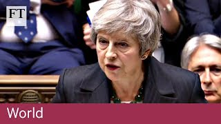 Theresa May gives Brexit statement to MPs