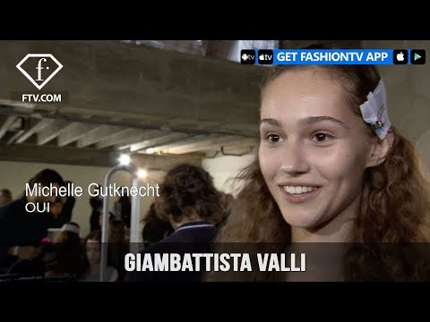 Paris Fashion Week Spring/Summer 2018 – Giambattista Valli | FashionTV