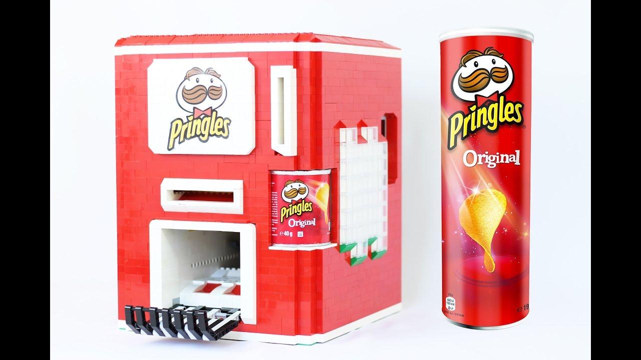 LEGO Pringles Machine