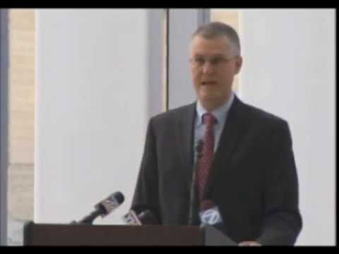 John Q. Barrett (2013) at the Robert H. Jackson Courthouse Naming