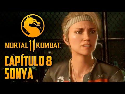 Mortal Kombat 11 Capitulo  08 - Sonya Blade no clube da LUTA (PT-BR PS4 PRO)