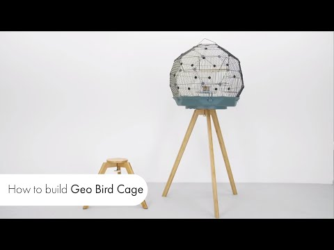 Geo Bird Cage Instructions: How To Assemble The Geo Bird Cage | Omlet Pet Products