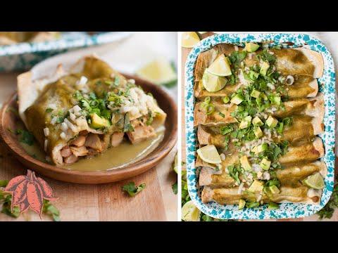 Best Chicken Enchiladas   100% Plant-Based & Delicious