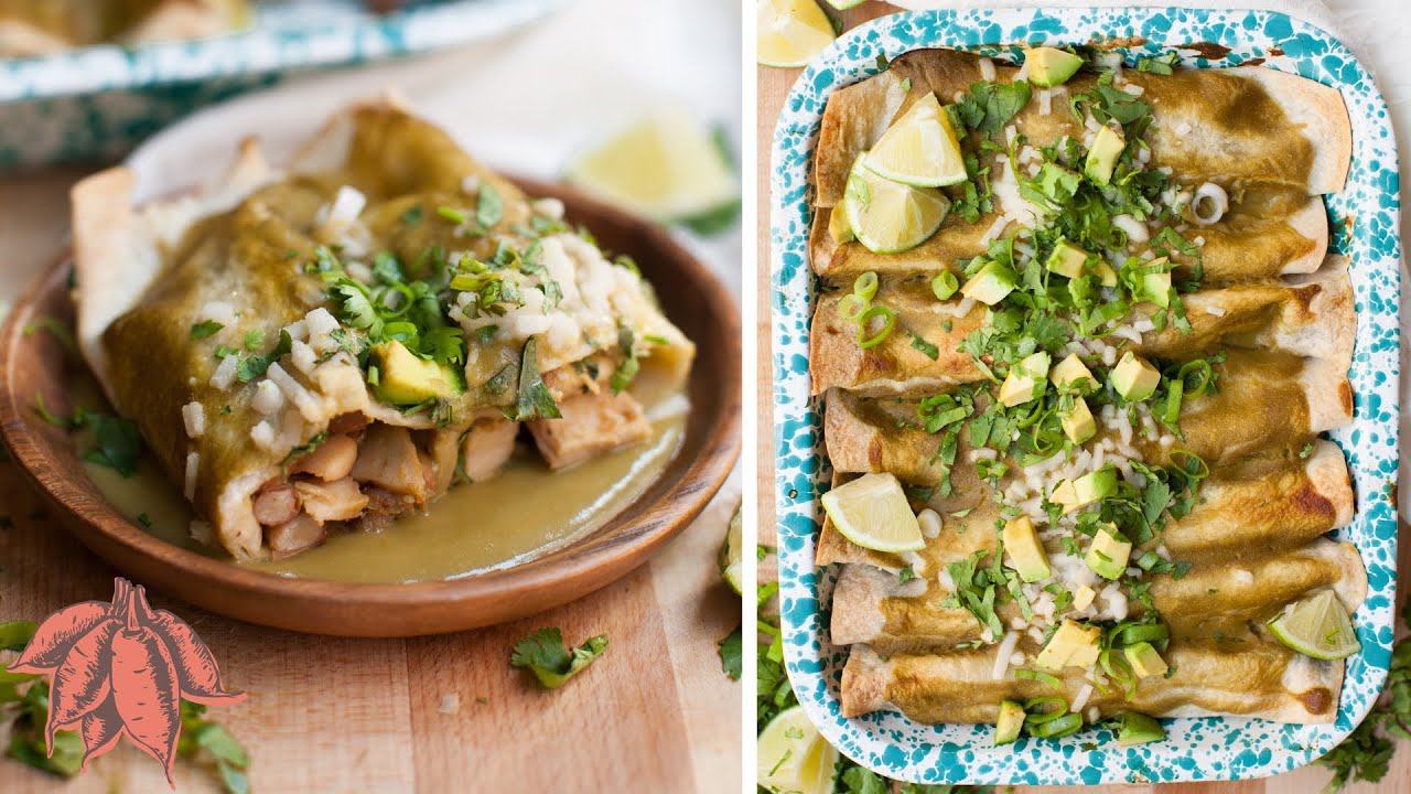 Best Chicken Enchiladas | 100% Plant-Based & Delicious