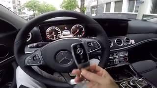 Benz e200d driver position review