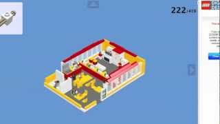 How To Build A Lego Mcdonalds Pt 2