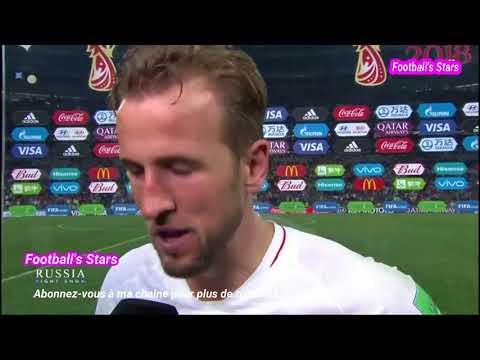 Angleterre vs Croatie 1-2 Les Réactions de Mandzukic et de Harry Kane 110718