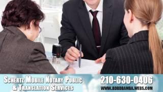 Schertz Mobile Notary Public & Translation Services | Apostilles & Process Servers | San Antonio, TX