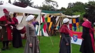 Medieval Dancing The Bruce Festival Dunfermline Fife Scotland