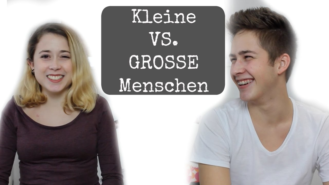 kleine vs grosse menschen w unicevlog maanuli youtube. Black Bedroom Furniture Sets. Home Design Ideas