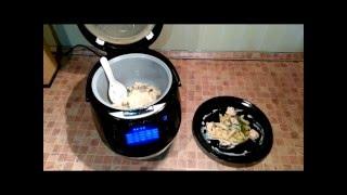 Домашние видео рецепты -  семга в сливочном соусе в мультиварке