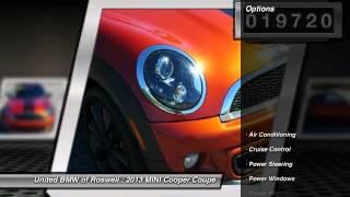2013 mini cooper coupe roswell ga r47613a