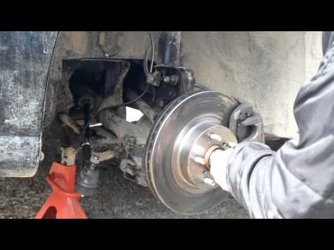 How To – Replace Ball Joints Subaru and it all goes wrong!
