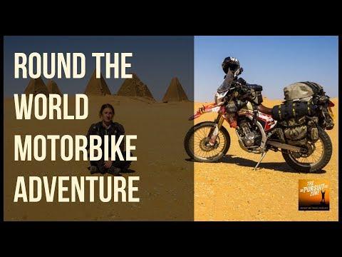 TPZ154: RTW Overland Motorbike Adventure with Steph Jeavons