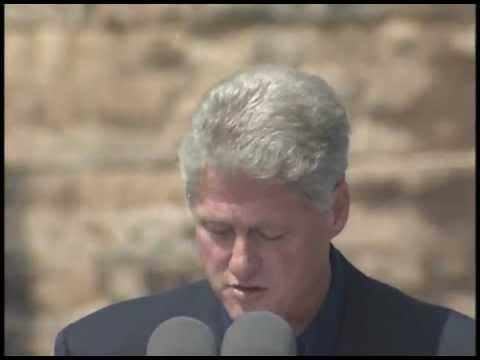 Pres. Clinton at Establishment of Grand Staircase Escalante Natl. Monument (1996)