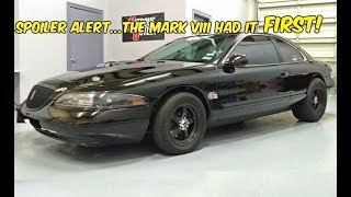 "The CHEAPEST RWD ""Cobra"" You Can Buy! (1993-1998 Lincoln Mark VIII)"