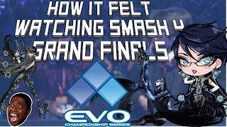 How it felt watching the SMASH 4 Grand Finals at EVO 2018
