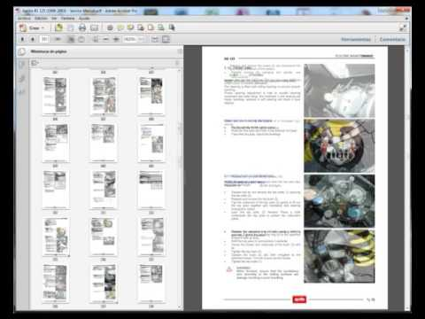 aprilia rs 125 rs125 service manual wiring diagram youtube rh youtube com
