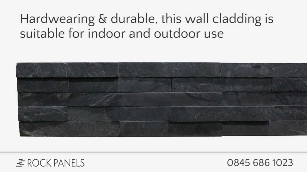 Black Slate Split Face Tiles Slate Cladding Split Face