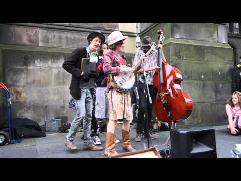 The Perch Creek Family Jugband - Edinburgh Festival Fringe 2012