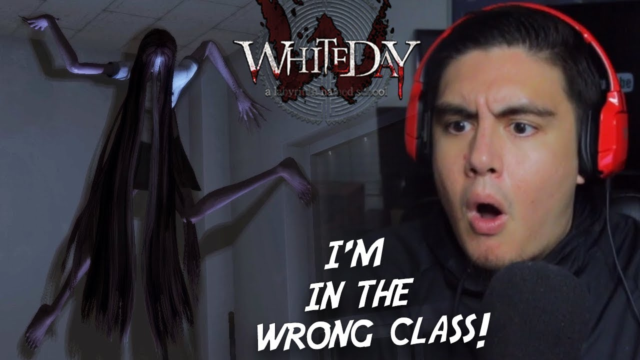 THIS GIRL STARTS DOING THIS IN CLASS..WHAT YOU DOIN?!   White Day [3] (Korean Horror Game)