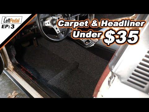 DIY Headliner and Carpet