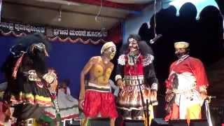 Yakshagana -- Bantwala as Jagajatti - Hasya