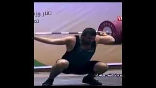 Saeid Mohammadpour на чемпионате Ирана