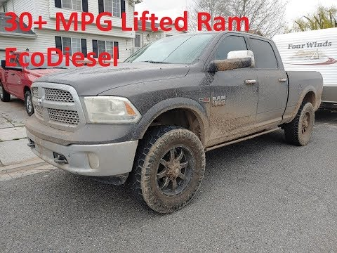 30+ MPG In Lifted Ram EcoDiesel - SFT+GDE Tunes