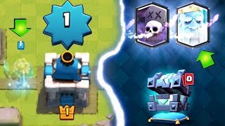LEVEL 1 GEMS ROYAL GHOST! | Clash Royale | Royal Ghost Unlocked