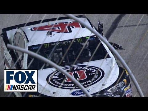 Kevin Harvick salutes Dale Earnhardt after dominating win | 2018 ATLANTA | FOX NASCAR