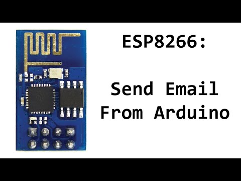Send Email From ESP8266 and Arduino - YouTube
