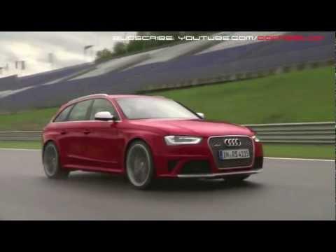 2013 Audi RS4: Racetrack - REV & Sound - 동영상