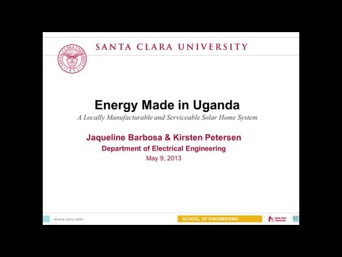 Energy Made in Uganda