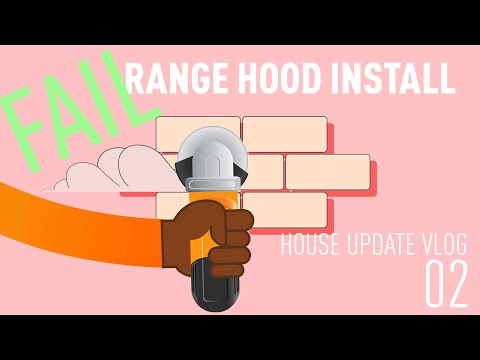 DIY HOUSE RENOVATION UPDATE VLOG 02 range hood install