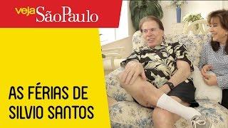 As férias de Silvio Santos