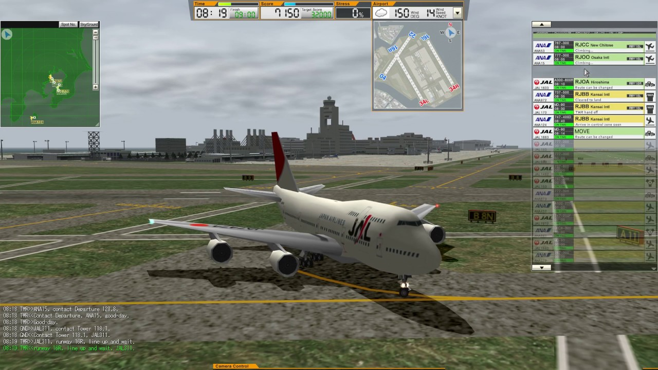 ATC3 | RJTT | Stage 2 - Free video search site - Findclip