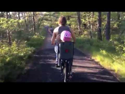 Bike ride on Myles Standish bike trail