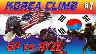 N3ac3y Korea Climb #7 - GP vs. Ryze (Full Game)