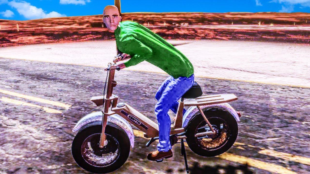 Baldi Caught Riding His Bike Through The Desert in The Long Drive?!