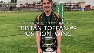 Tristan Toffan Rookie Rugby Highlight Tape