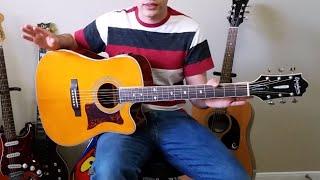 Epiphone Masterbuilt DR 500 MCE Guitar REVIEW