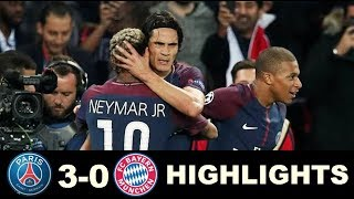 PSG Vs Bayern Munich 3-0  All Goals & Extended Highlights -Champions League  27/09/2017