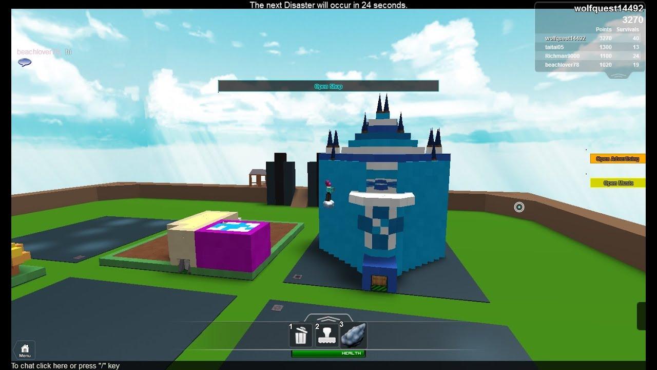 Roblox: Build that topic! Episode 1: Frozen house (Elsa ...