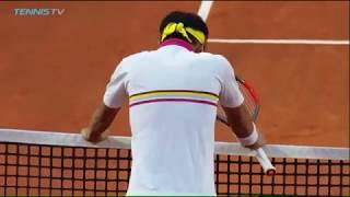 Kei Nishikori Epic Fail Novak Djokovic Tennis Smash Gone Bad Rome 2018