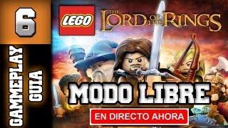 """Lego El Señor de Los Anillos Guia - Walkthrough - Modo Libre - Parte 6 """"El Paso de Caradhras"""""""